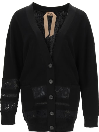 N.21 Cardigan With Lace