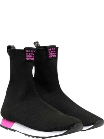 DKNY Black Sock Sneakers