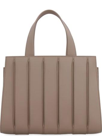 Max Mara Whitney Leather Handbag