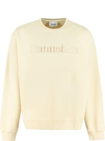 Nanushka Remy Cotton Crew-neck Sweatshirt