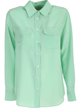 Bagutta green shirt