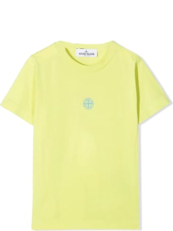 Stone Island Green Cotton T-shirt