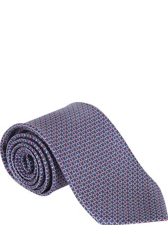 Salvatore Ferragamo All-over Logo Neck Tie