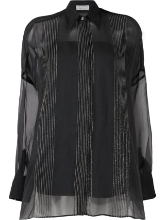Brunello Cucinelli Crispy Silk Shirt
