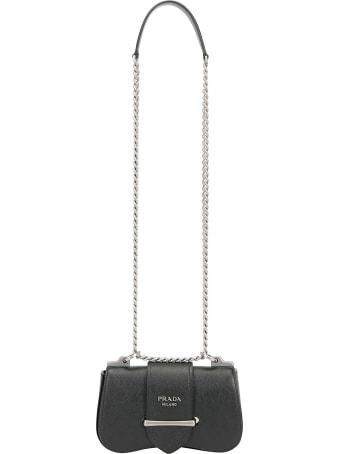 Prada Pattina Shoulder Bag