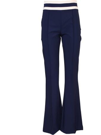 Elisabetta Franchi Celyn B. Elisabetta Franchi wide leg elastic trousers