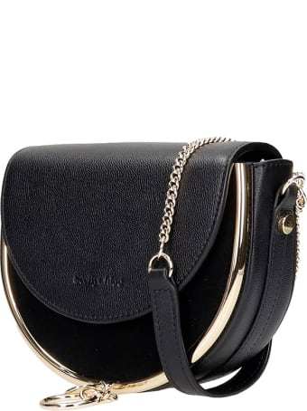 See by Chloé Mara Small Shoulder Bag In Black Leather