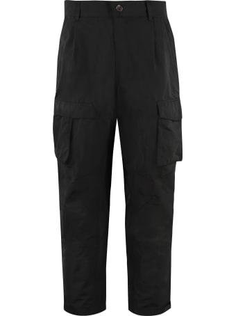 Givenchy Gabardine Cargo Trousers