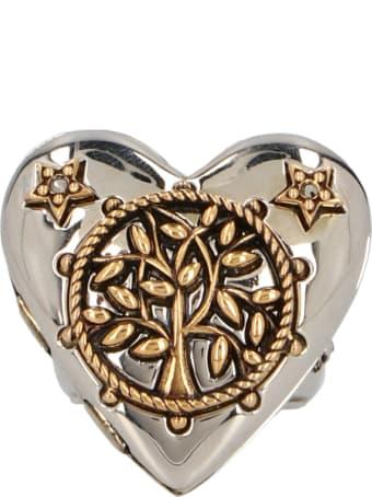 Alexander McQueen 'heart Locket' Ring