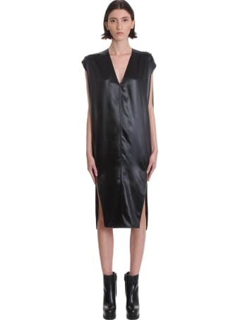 Rick Owens Arrowhead Dress Dress In Black Polyamide