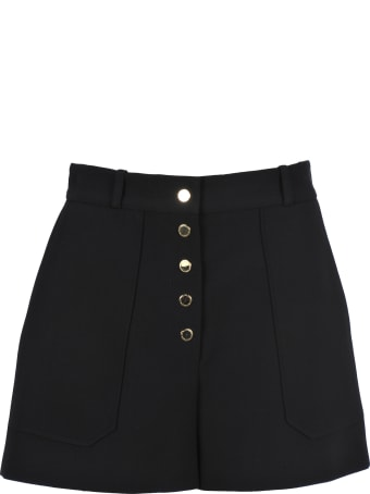 Stella McCartney Gold Button Shorts