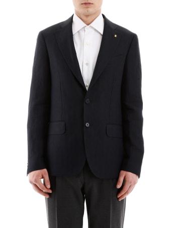 CC Collection Corneliani Linen Jacket