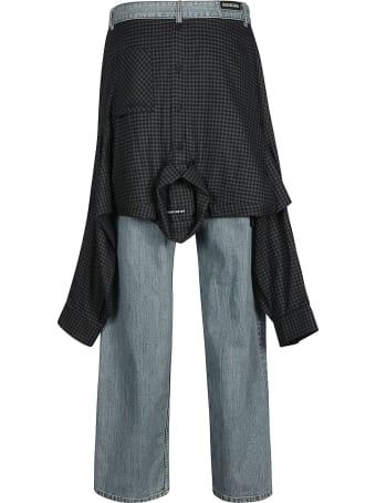 Balenciaga Shirt Detail Jeans
