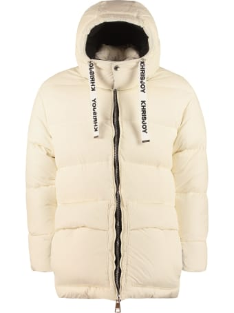 Khrisjoy Kj Hooded Down Jacket