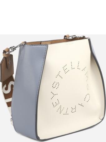Stella McCartney Shoulder Bag With Perforated Logo