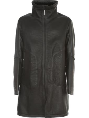 Isaac Sellam Fur Jacket W/padded Sleeves