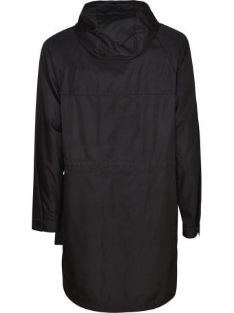 Prada Large Pocket Logo Plaque Raincoat