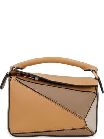 Loewe Mini Puzzle Leather Handbag