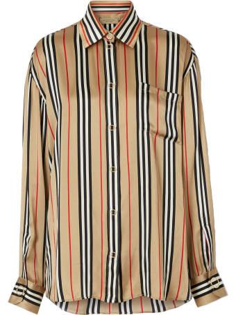 Burberry Godwit Long Sleeves Silk Shirt