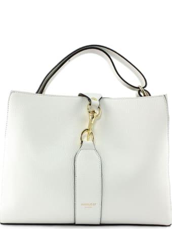 Avenue 67 Annetta White Leather Bag