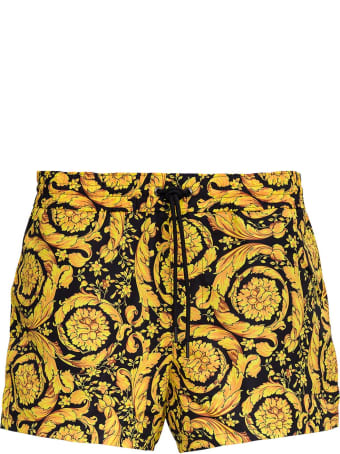 Versace Swimsuit With Baroque Print