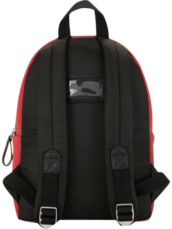Dolce & Gabbana Red Backpack