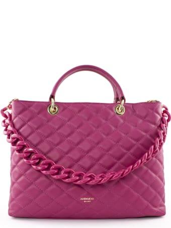 Avenue 67 Violante Bag In Fuchsia Leather