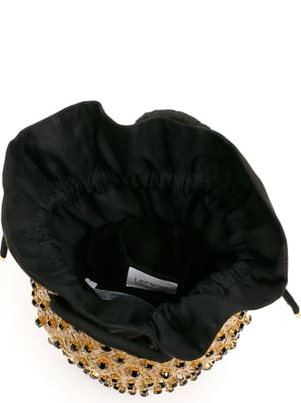 Le Niné Satin Nina Small Basket Bag