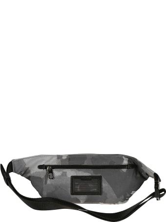 Dolce & Gabbana Logo Plaque Camouflage Belt Bag