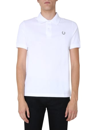 Fred Perry by Raf Simons Cotton Piqué Polo Shirt