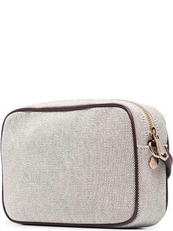 Givenchy Grey And Dark Brown Bond Camera Bag