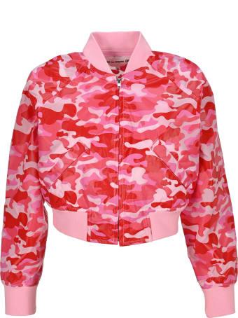 Comme Des Garçons Girl Bomber Camouflage