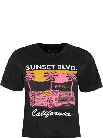 Local Authority LA Cotton Cropped T-shirt