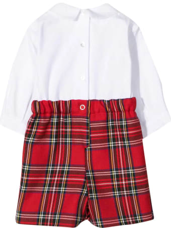 Mariella Ferrari Mariella Ferrari Checked Baby Suit