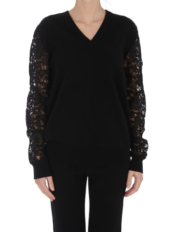 Dolce & Gabbana Lace Sleeves Sweater