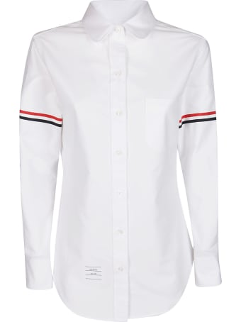 Thom Browne Stripe Detail Shirt