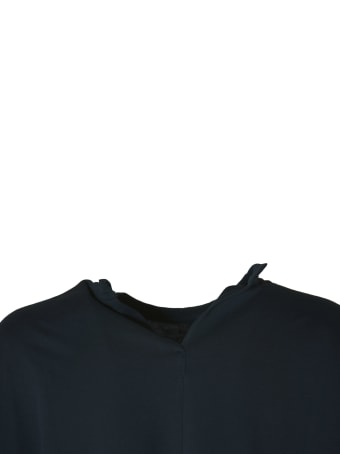 Sofie d'Hoore Long Sleeve C-neck Sweatshirt In Fine Fleece