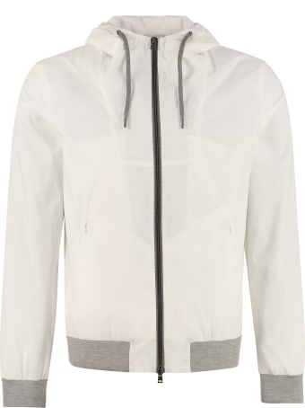 Herno Hooded Windbreaker