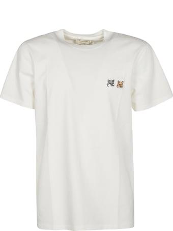 Maison Kitsuné Patched T-shirt
