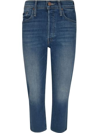 Mother Semi-cropped Fitted Jeans
