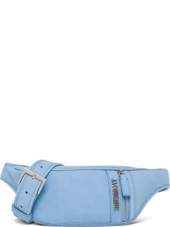 Jacquemus Le Banane Leather Belt Bag With Logo