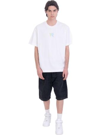 Alexander Wang T-shirt In White Cotton