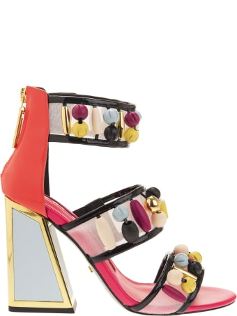 Kat Maconie Cardi Multibrights Sandals