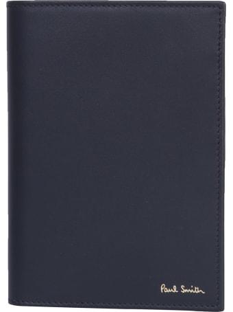 Paul Smith Leather Passport Holder