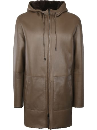 Desa 1972 Drawstring Hood Zip Jacket