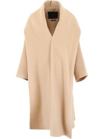 Max Mara Atelier Camel Wrap Coat