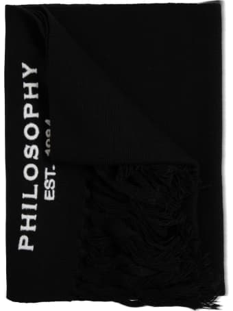 Philosophy di Lorenzo Serafini Kids Wool Blend Scarf With Logo
