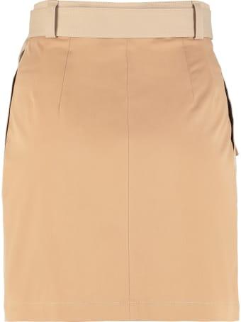 MSGM Cotton Wrap Skirt