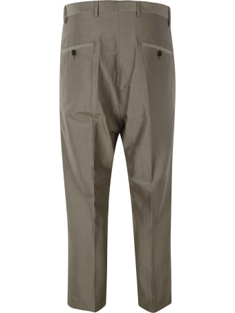 Rick Owens Slim Cropped Trousers
