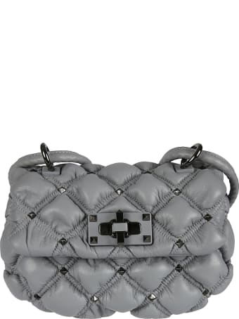 Valentino Garavani Small Spikeme Hobo Bag